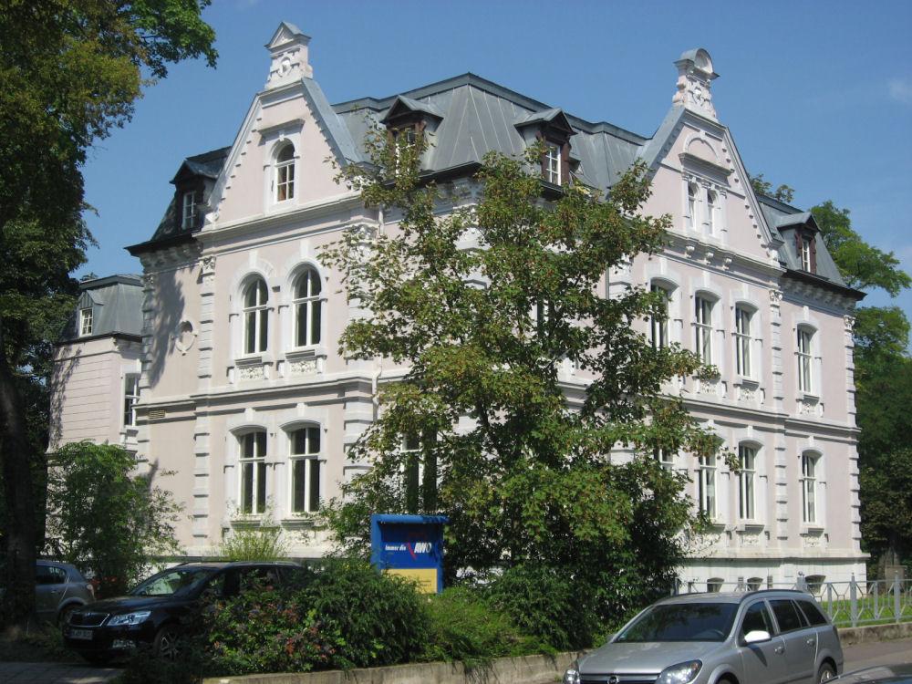 Denkmalgeschützte Gründerzeitvilla in Magdeburg-Sudenburg
